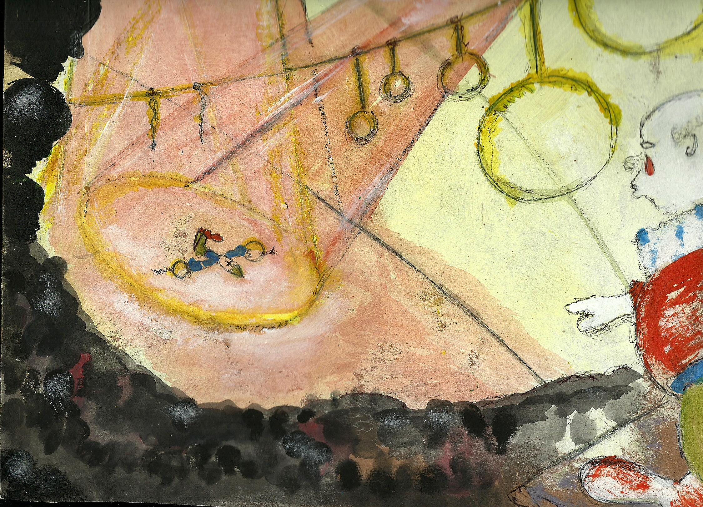 circus pepino al piso